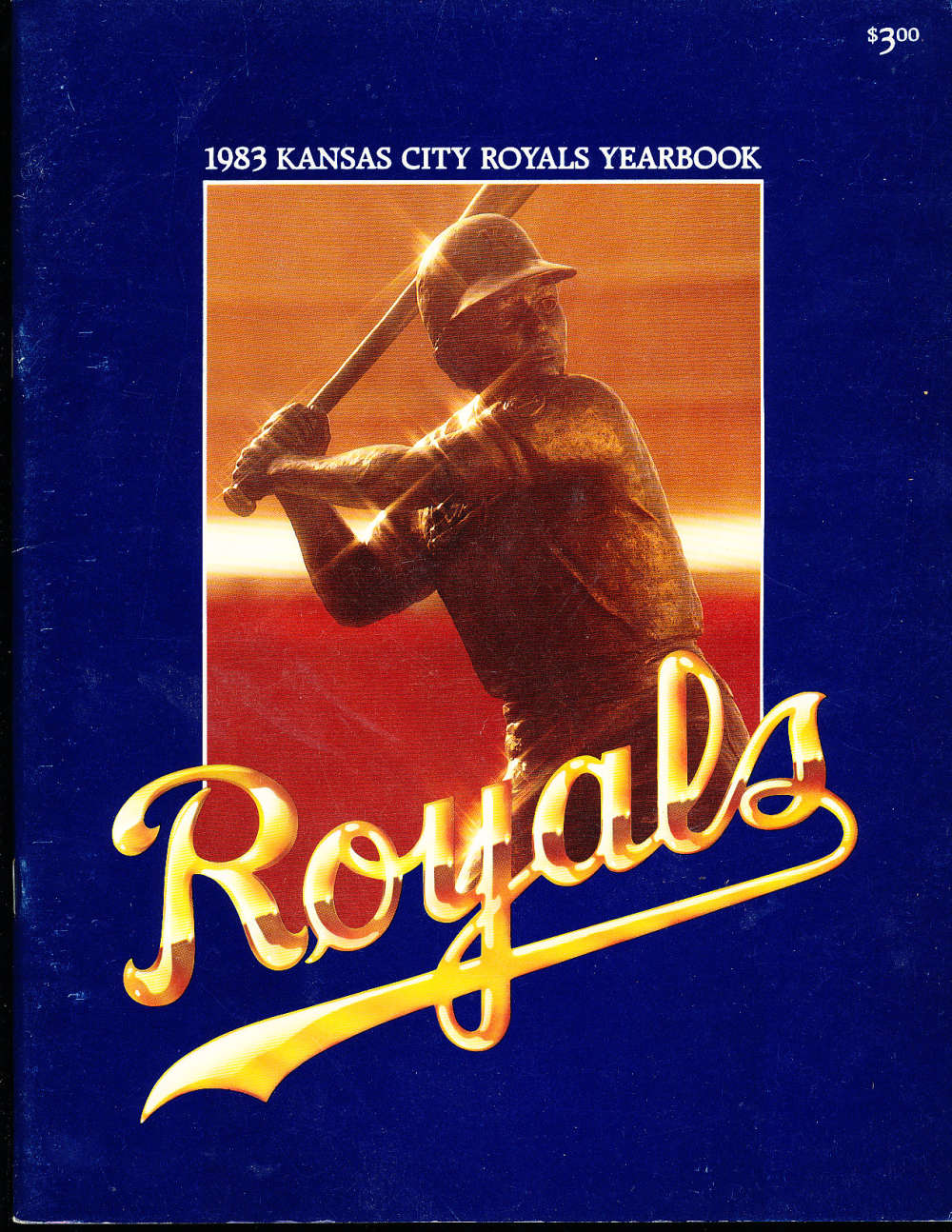 1983 Kansas city Royals baseball yearbook