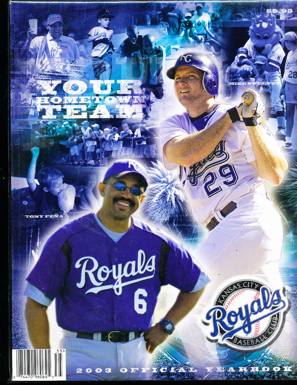 2003 Kansas city Royals baseball yearbook