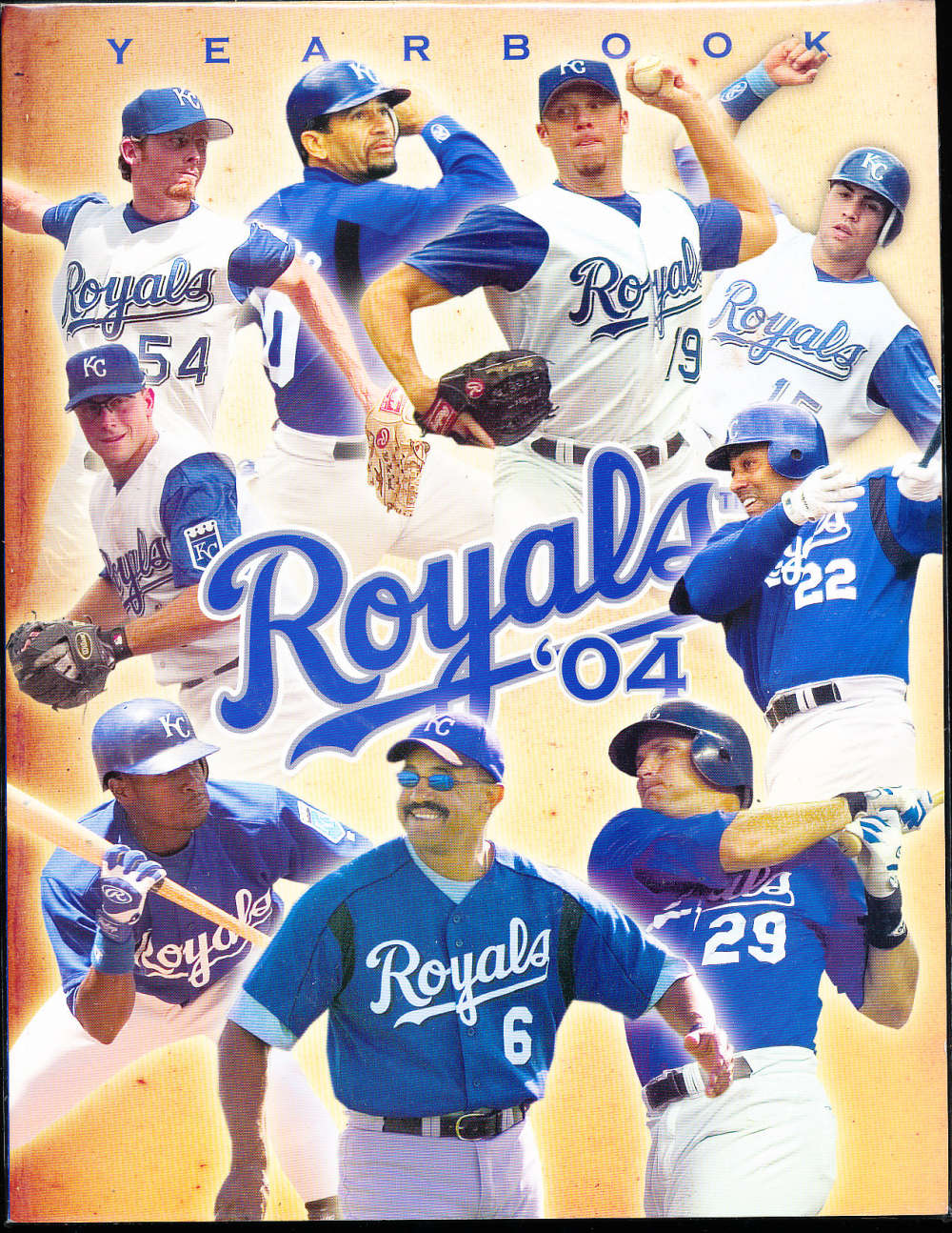 2004 Kansas city Royals baseball yearbook