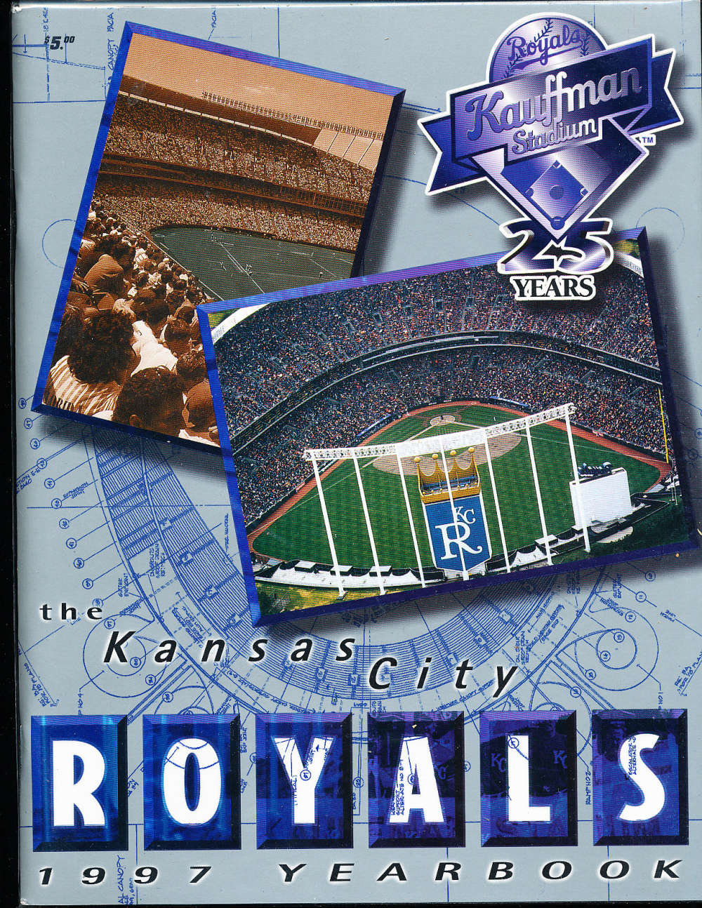 1997 Kansas city Royals baseball yearbook