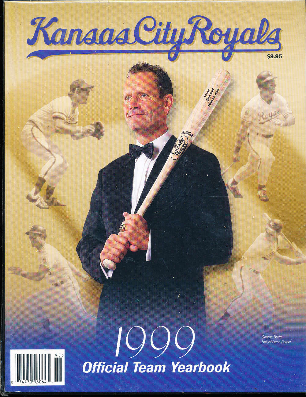 1999 Kansas city Royals baseball yearbook