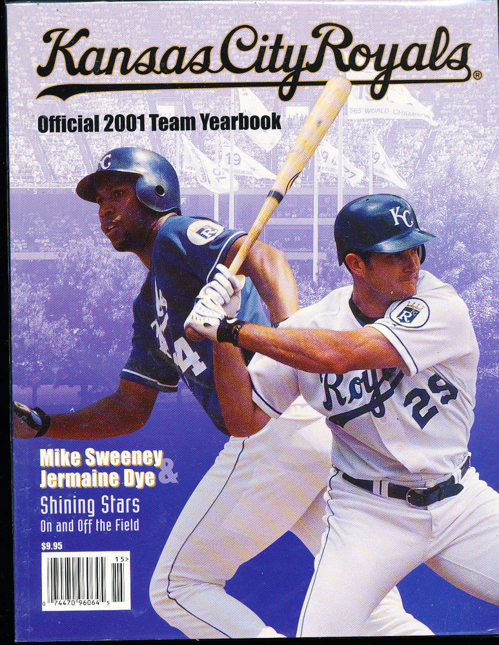 2001 Kansas city Royals baseball yearbook