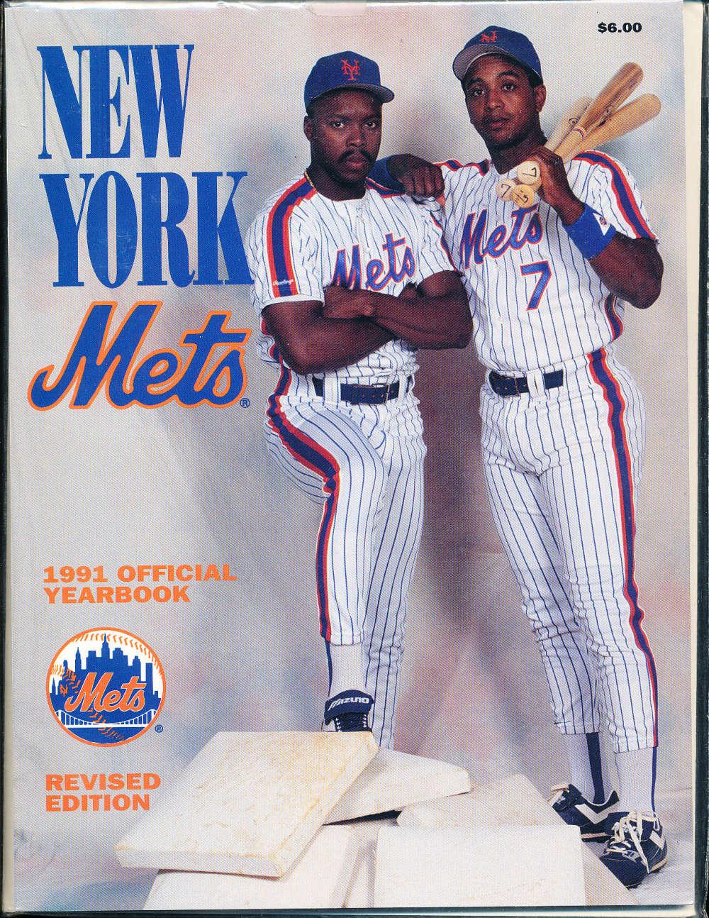 1991 New York Mets Yearbook revised