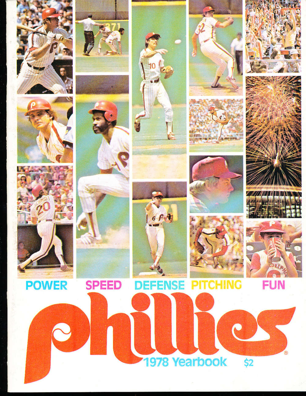1978 Philadelphia Phillies Baseball Yearbook  b1
