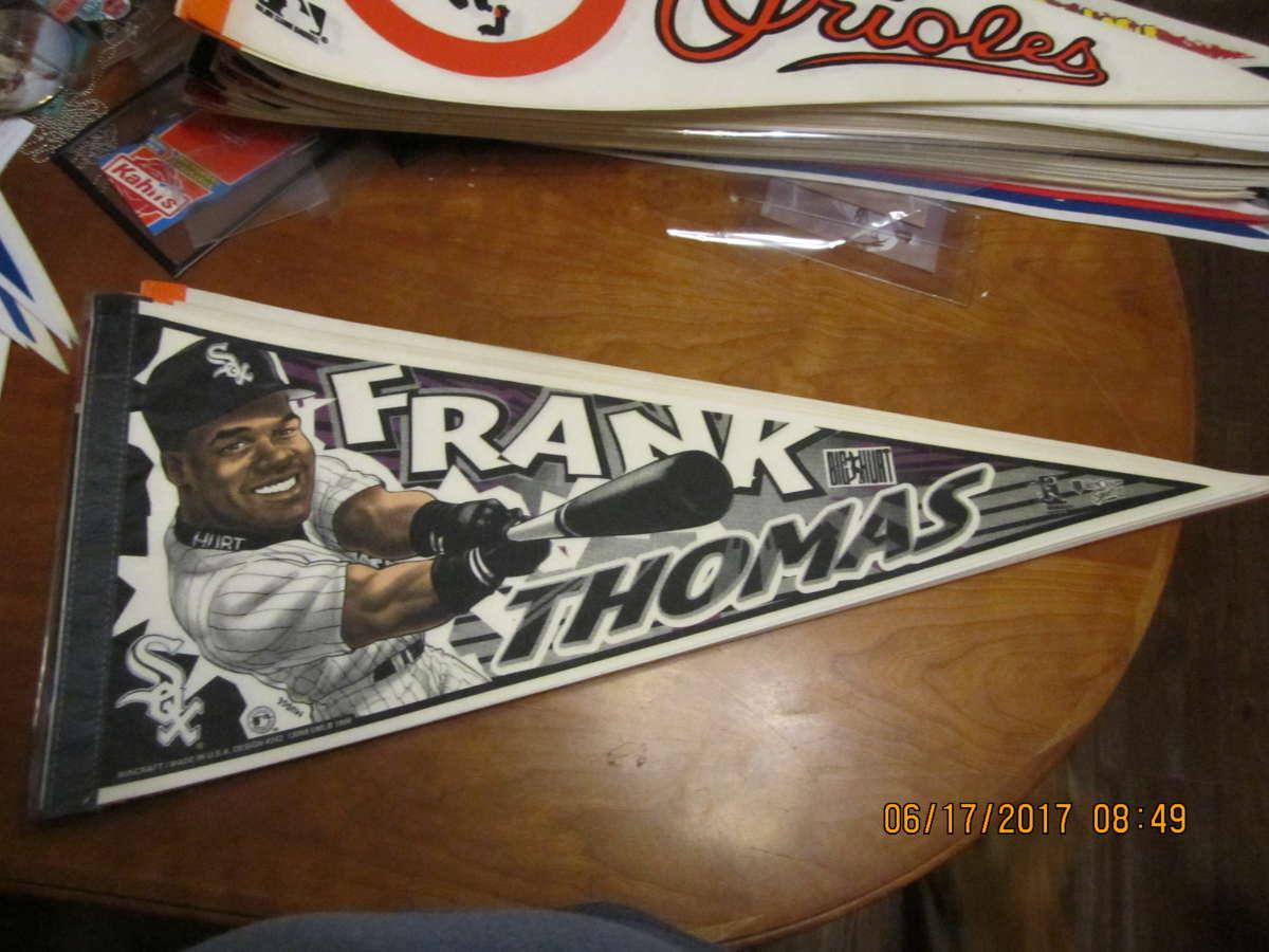Frank Thomas White Sox hitting 1998 Pennant b1