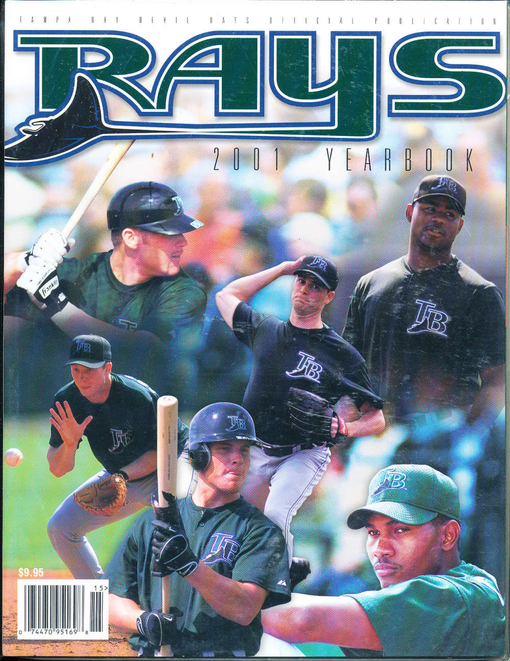 2001 Tampa Bay Devil Rays Baseball Yearbook