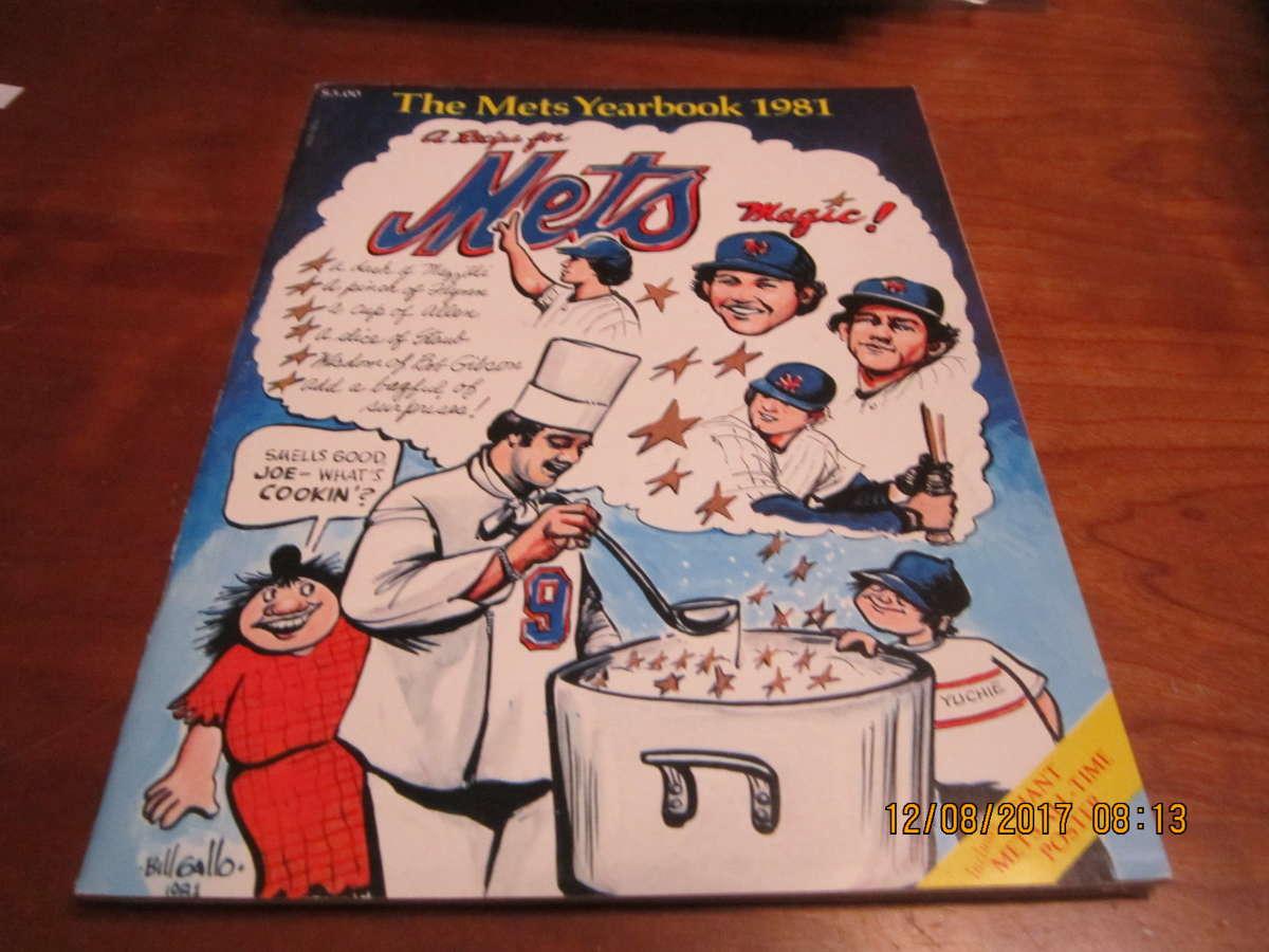 1981 New York Mets Baseball Yearbook