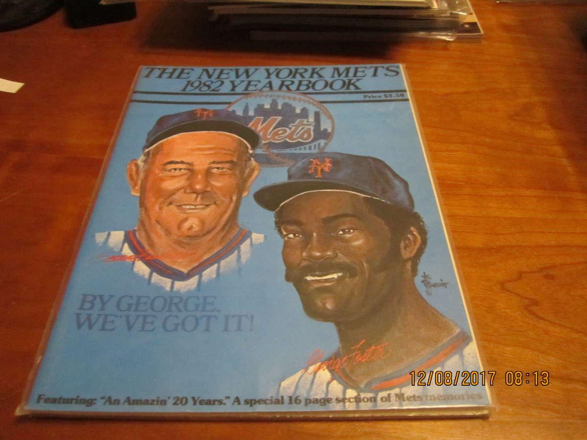 1982 New York Mets Baseball Yearbook