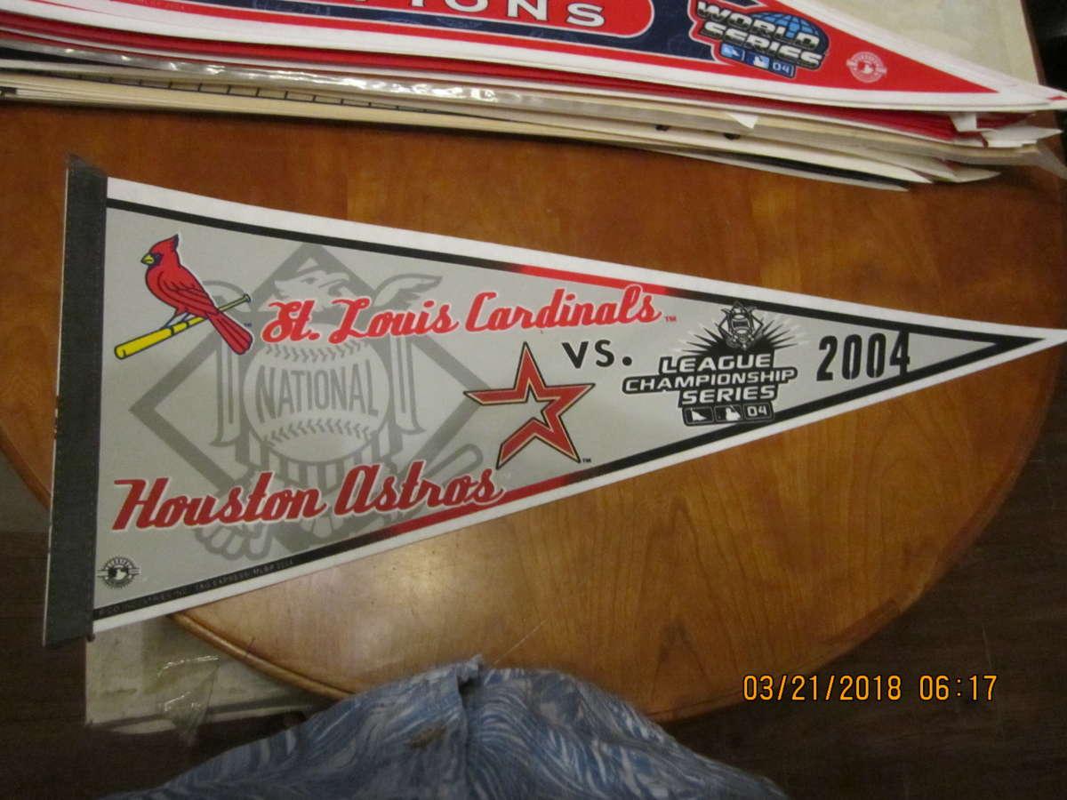 2004 St. Louis Cardinals vs Houston Astros NLCS pennant
