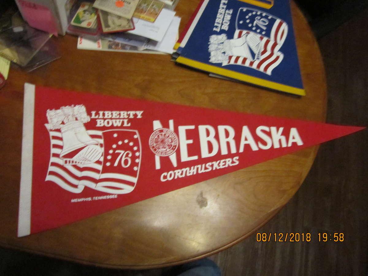 Liberty Bowl Nebraska Football Pennant