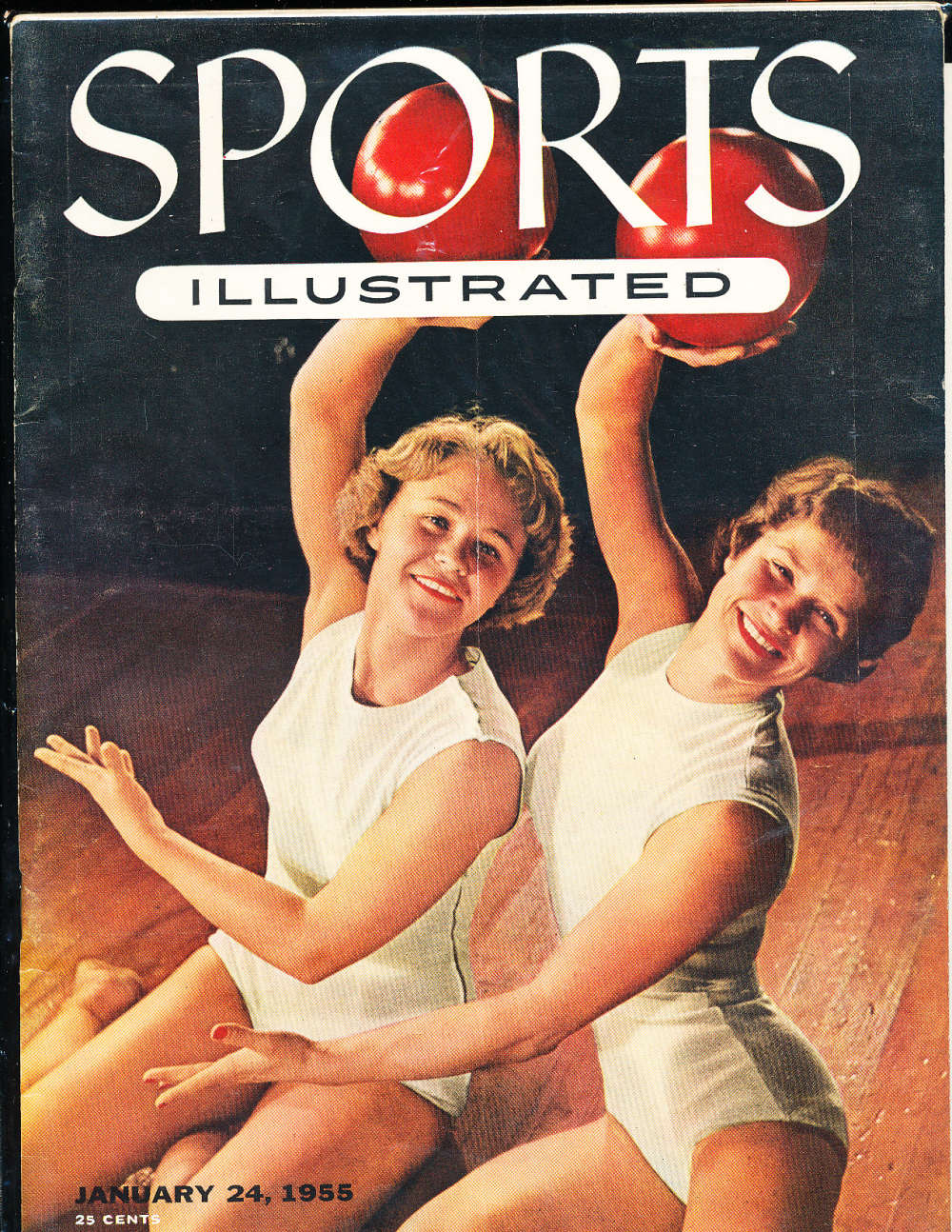 1/24 1955 Sports Illustrated no label  newsstand nr mt sibx3