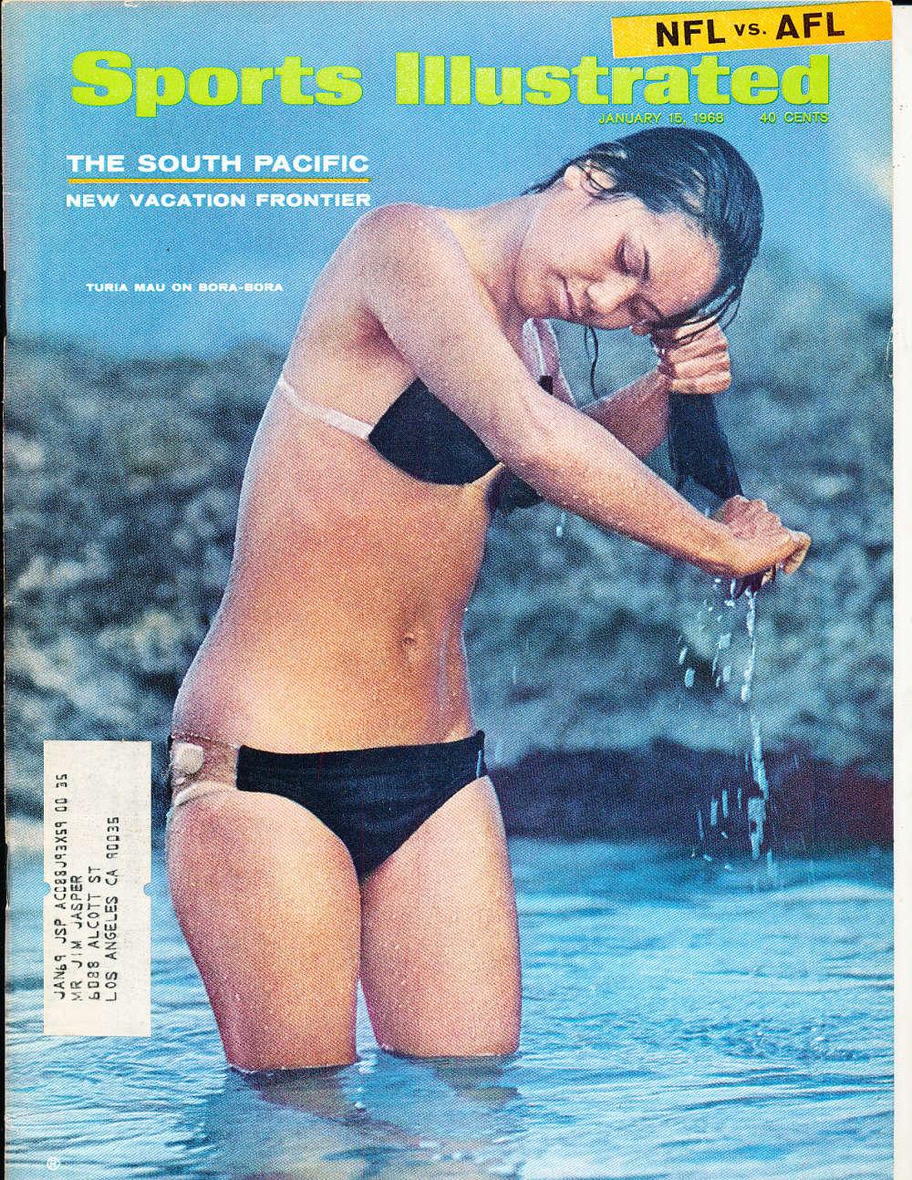 1/16 1968 Sports Illustrated Turia Mau swimsuit si6