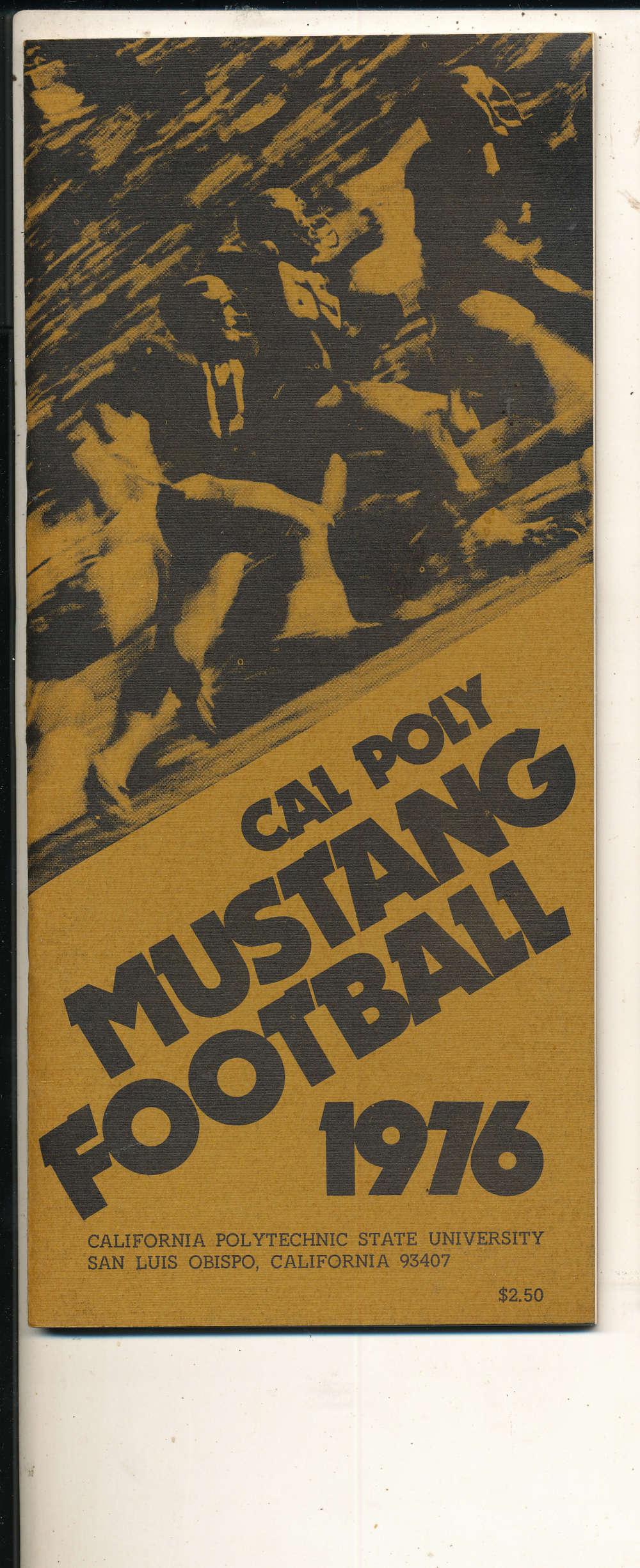 1976 Cal Poly San Luis Obispo Football Media Press Guide