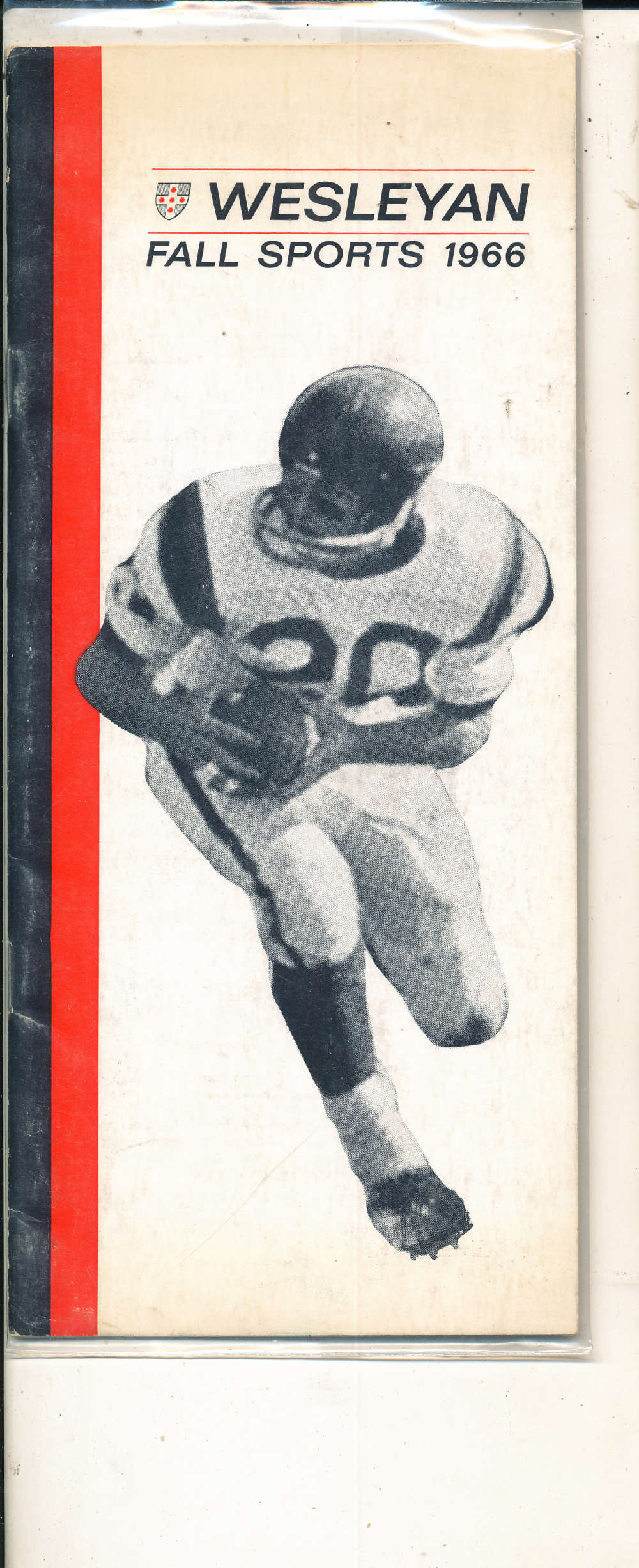 Wesleyan University fall sports 1966 Football Media Press Guide