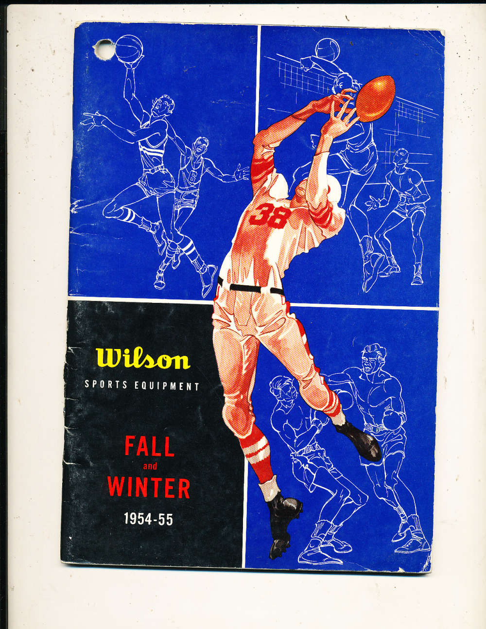 1954 Wilson Sports Equipment Catalog bx1