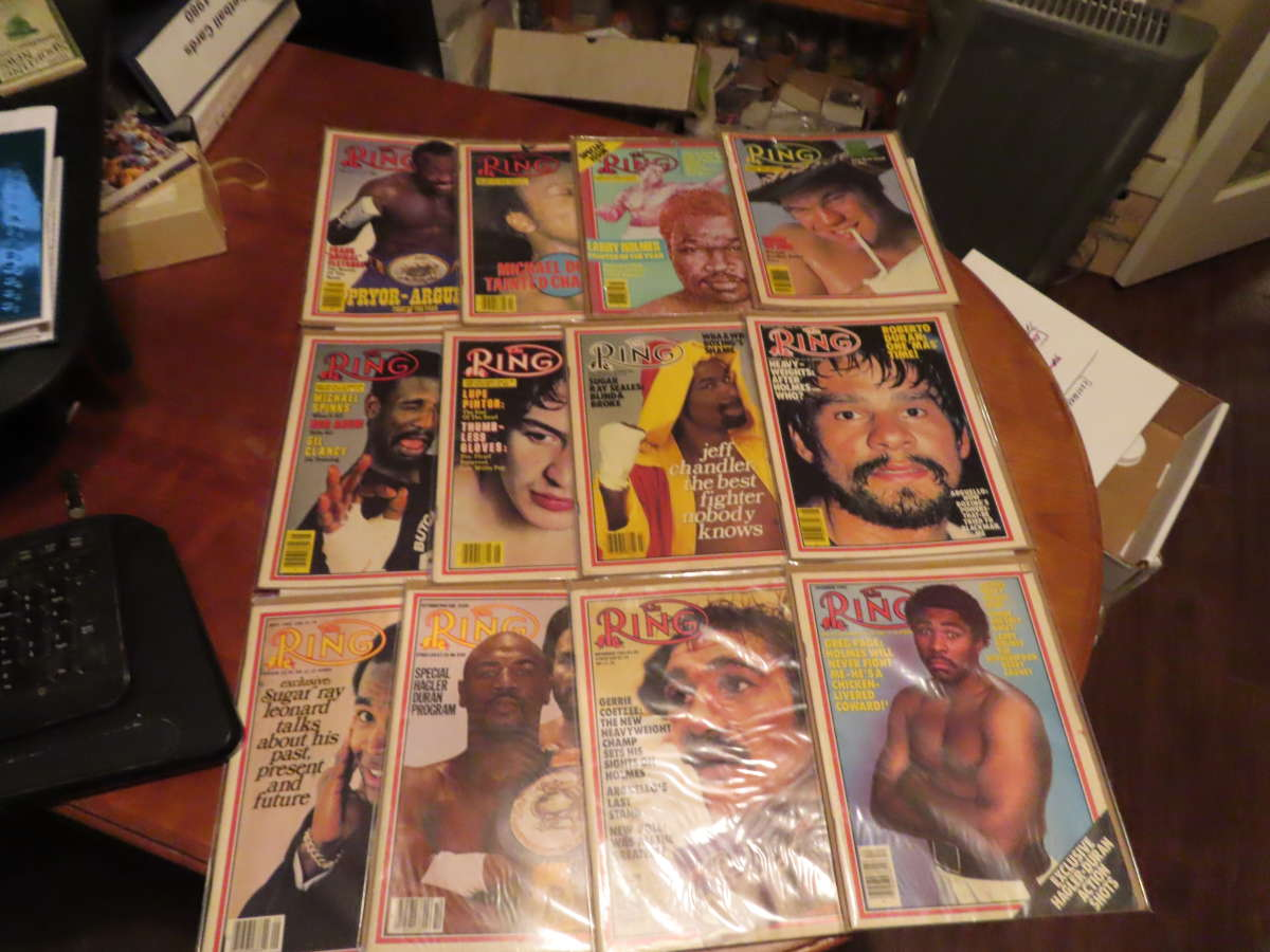1983 Ring Magazine nice condition 12 issues full year em/nm