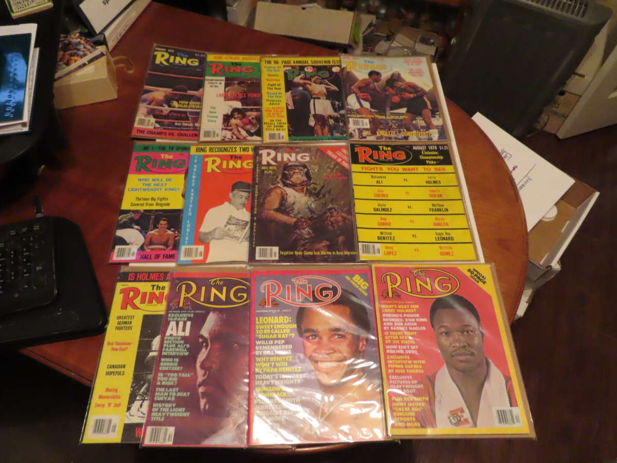 1979 Ring Magazine 12 issues full year em/nm Muhammad Ali