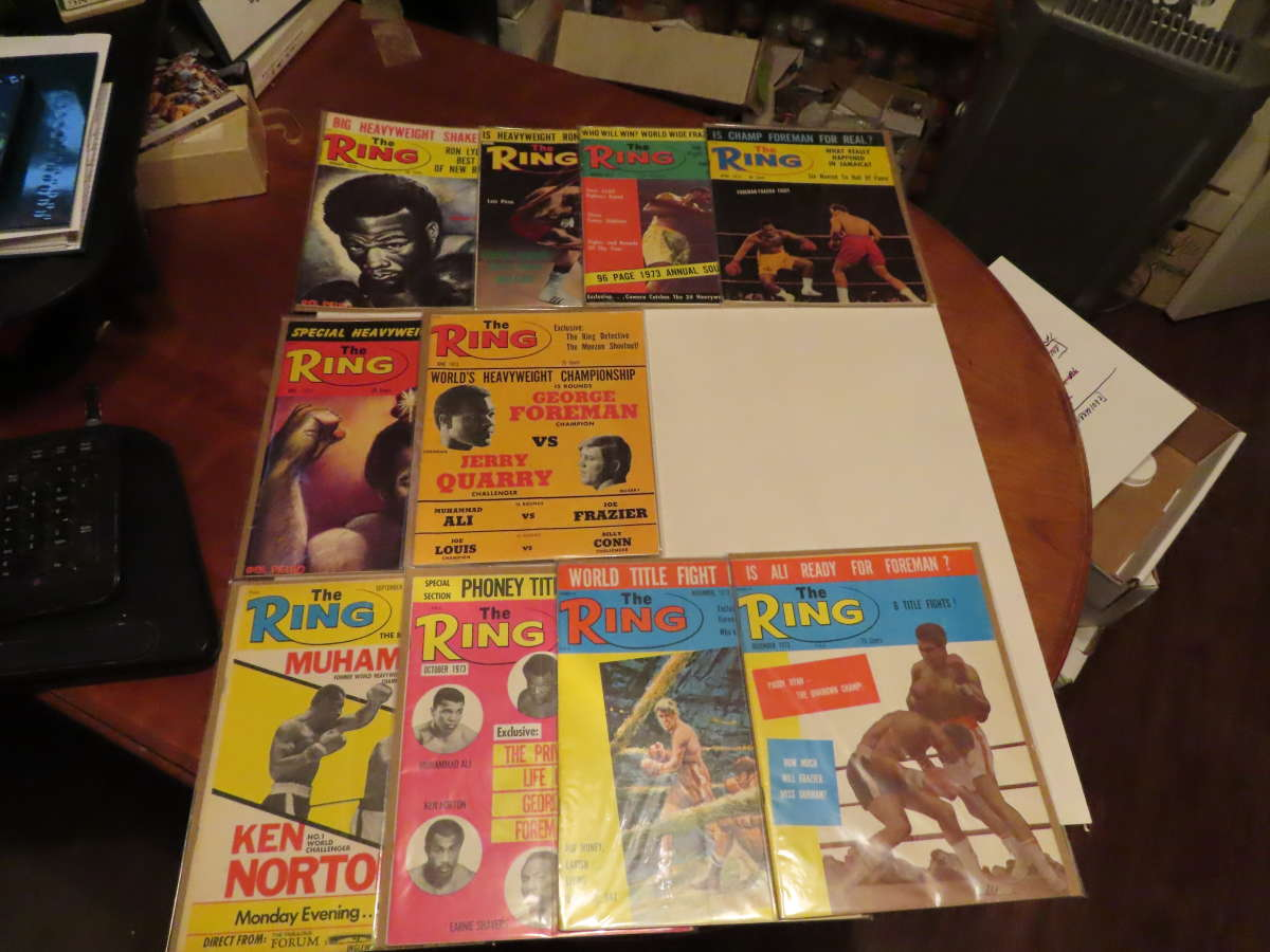 1979 Ring Magazine 10/12 issues full year em/nm Muhammad Ali