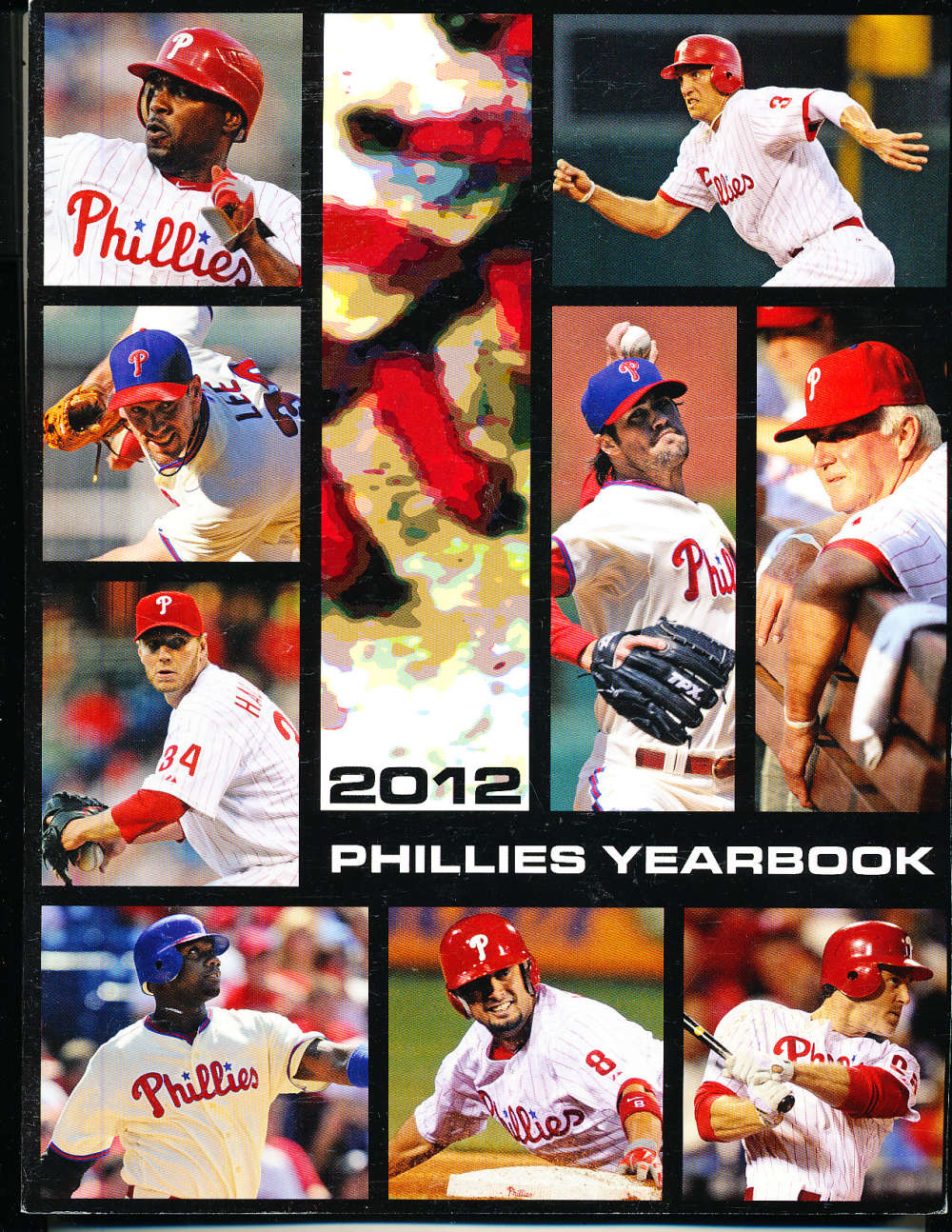 2012 Philadelphia Phillies Yearbook nm bxyb