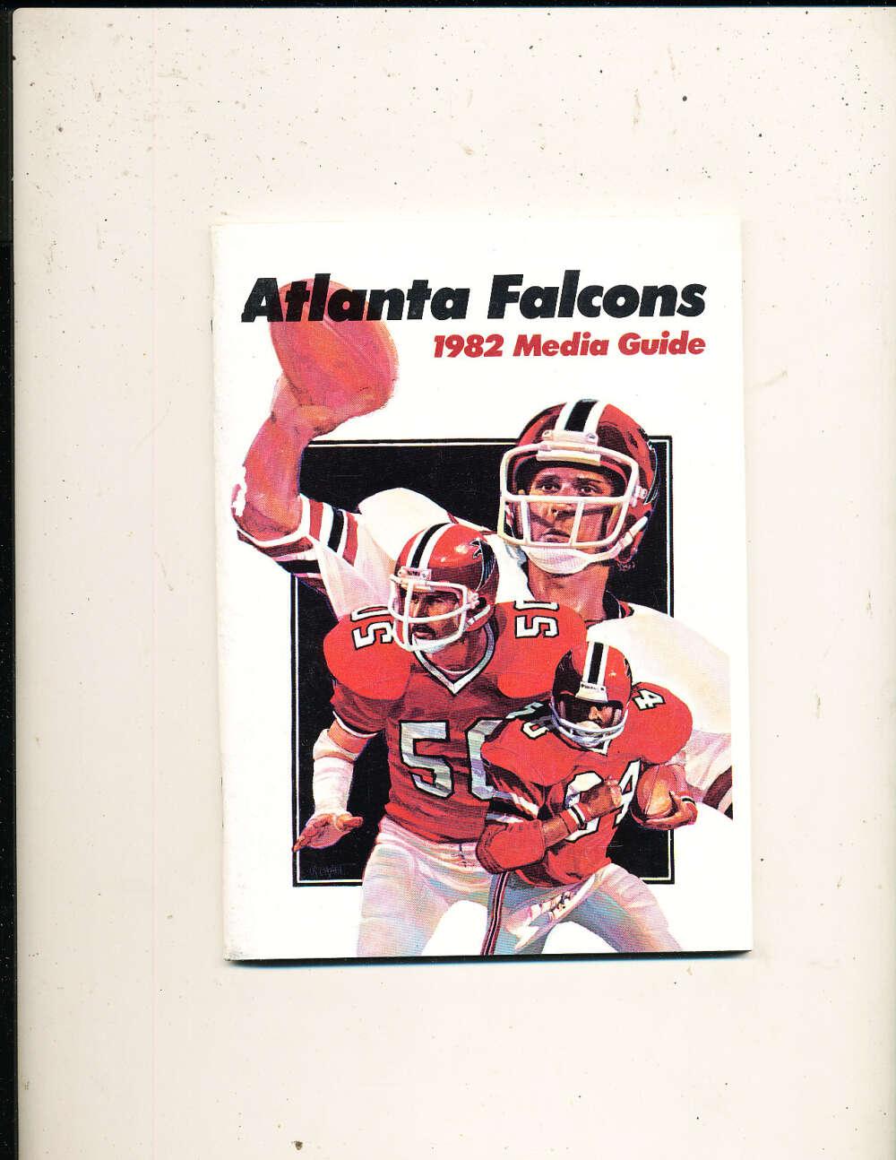 1982 Atlanta Falcons Media Guide bxguide