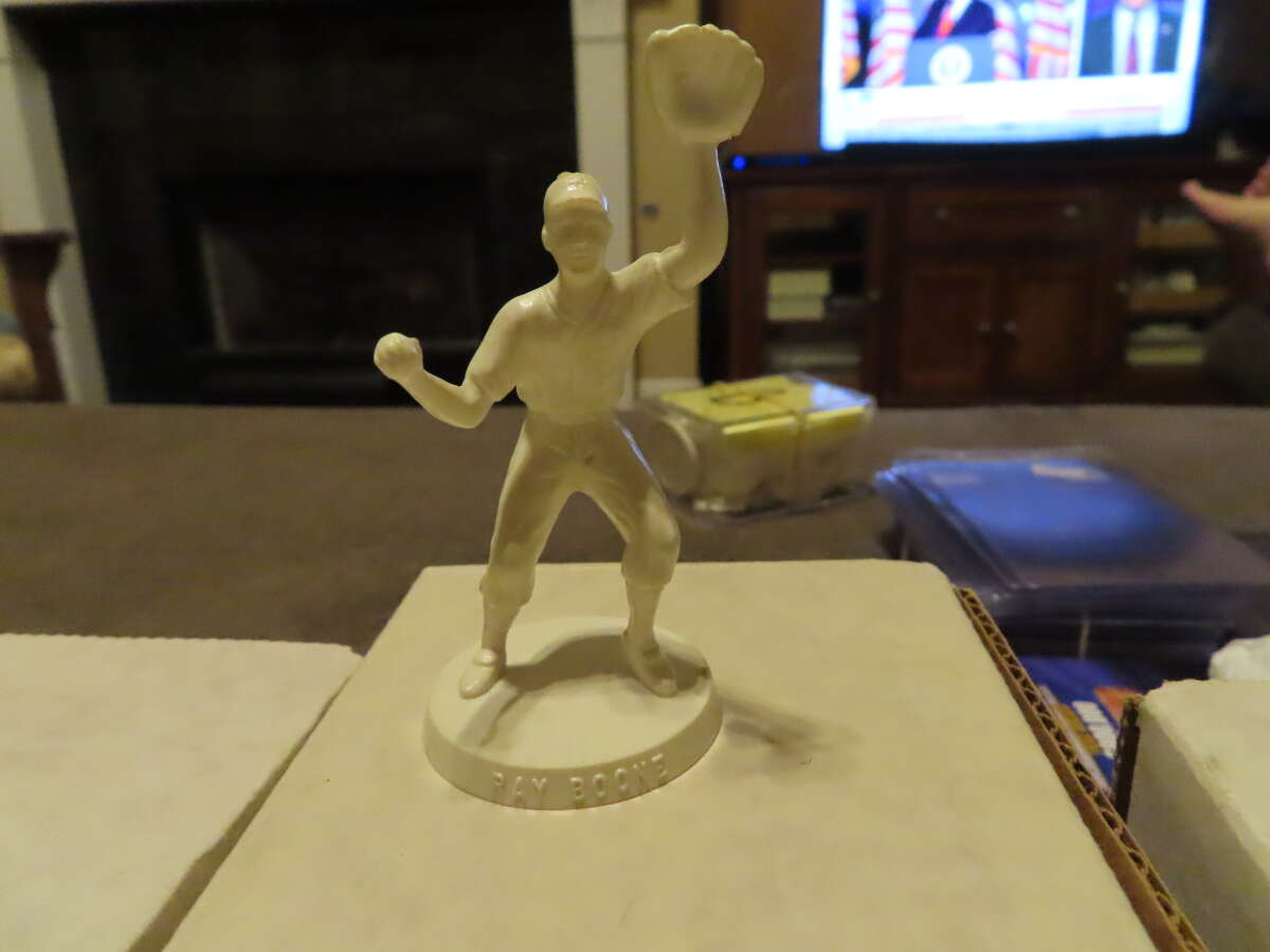 1955 Ray Boone  Robert Gould all star Statue em