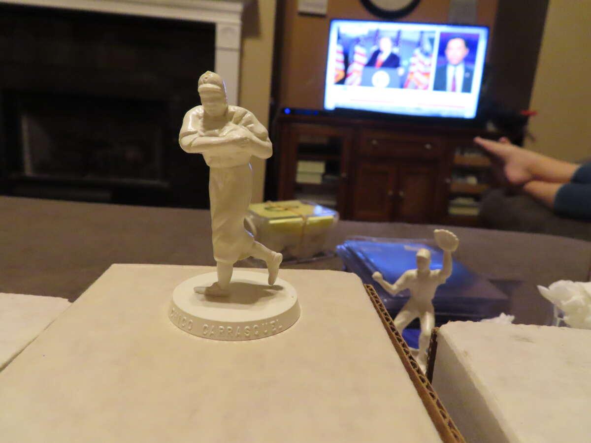 1955 Chico Carrasquel White Sox Robert Gould all star Statue em