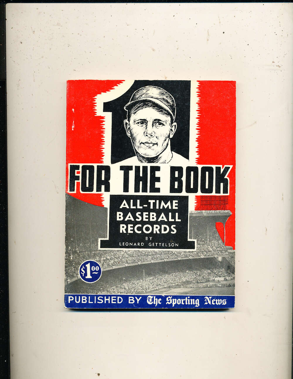 1953 one for the book The Sporting news Guide em