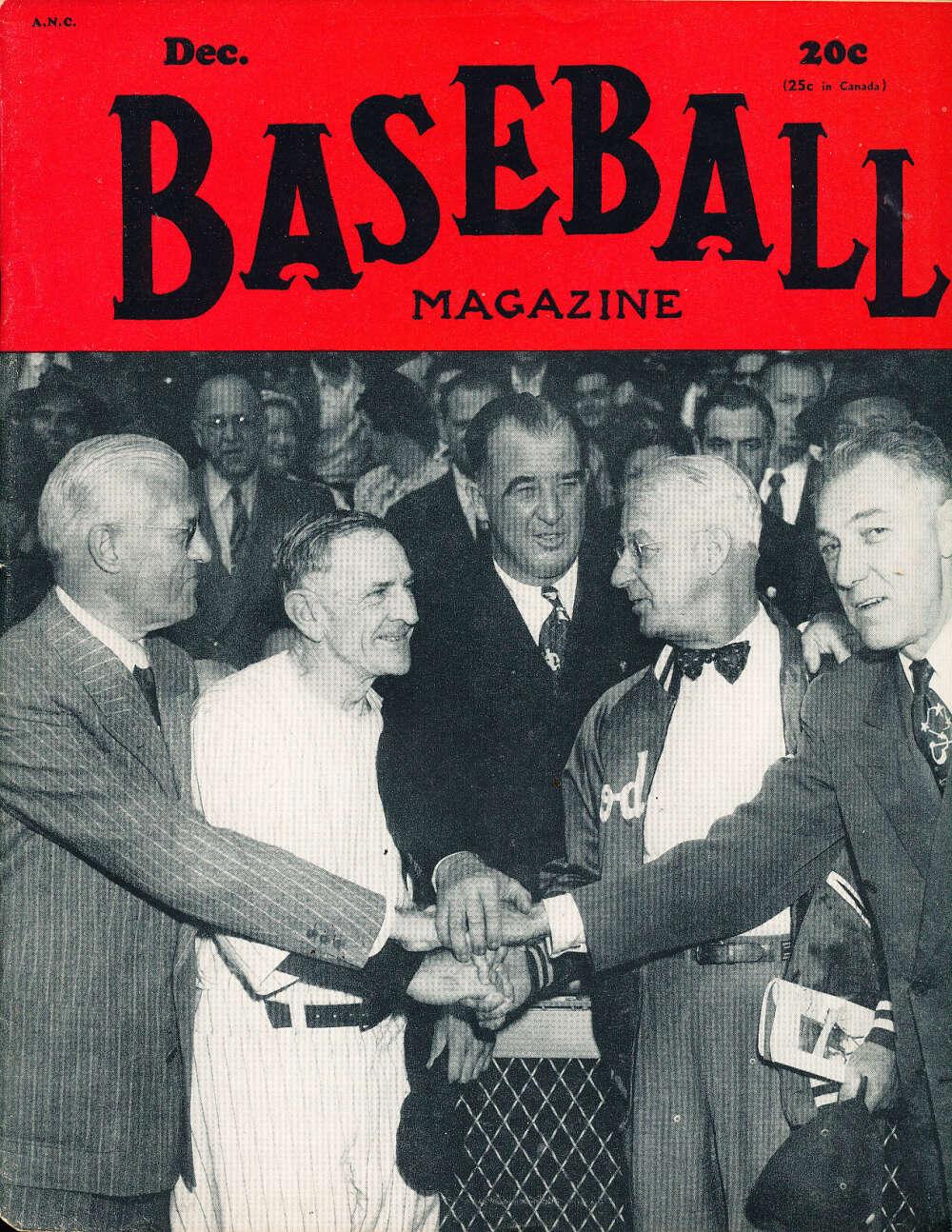 December 1949 Baseball Magazine Casey Stengel
