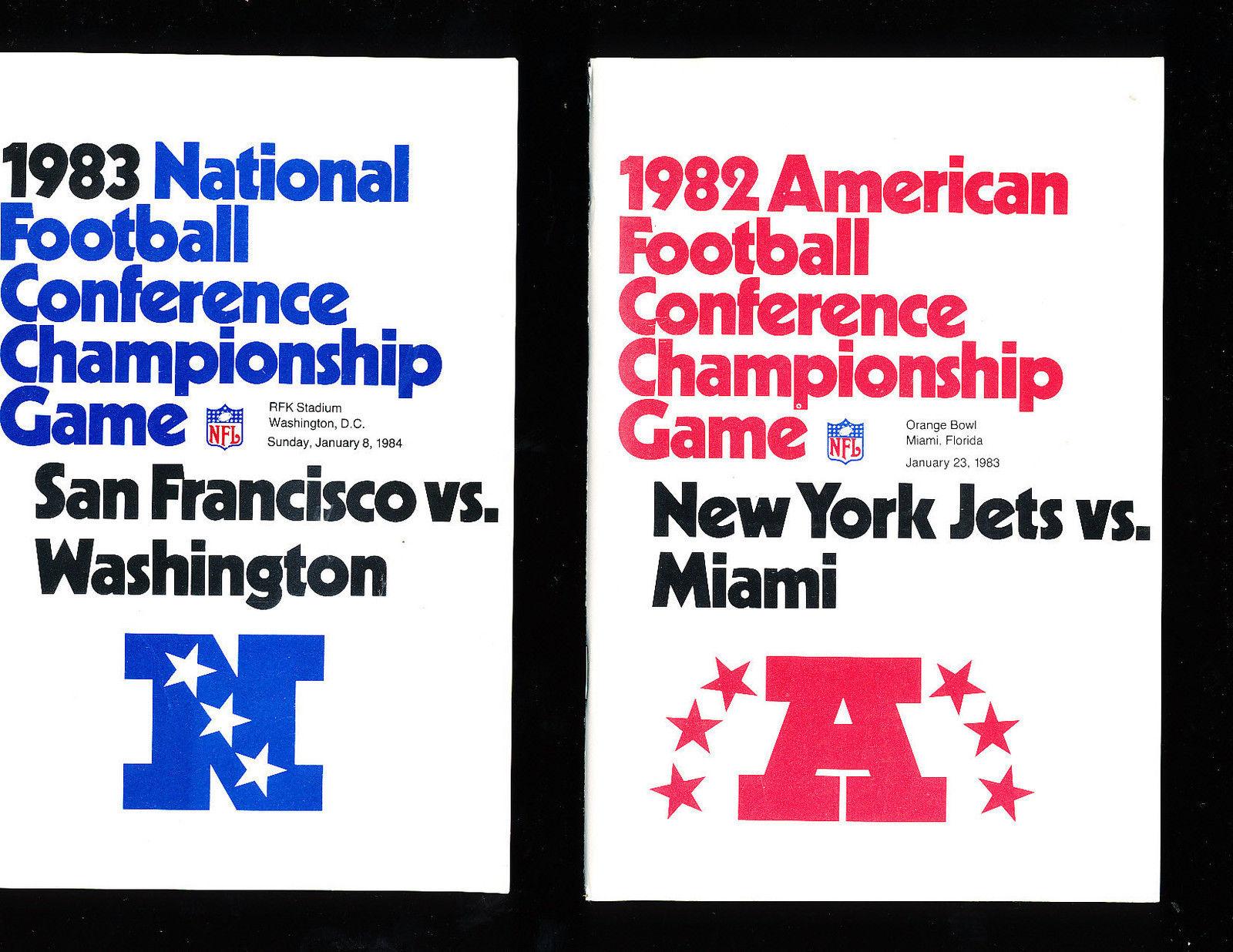 1983 AFC Championship Seahawks vs Raiders  Press Media Guide