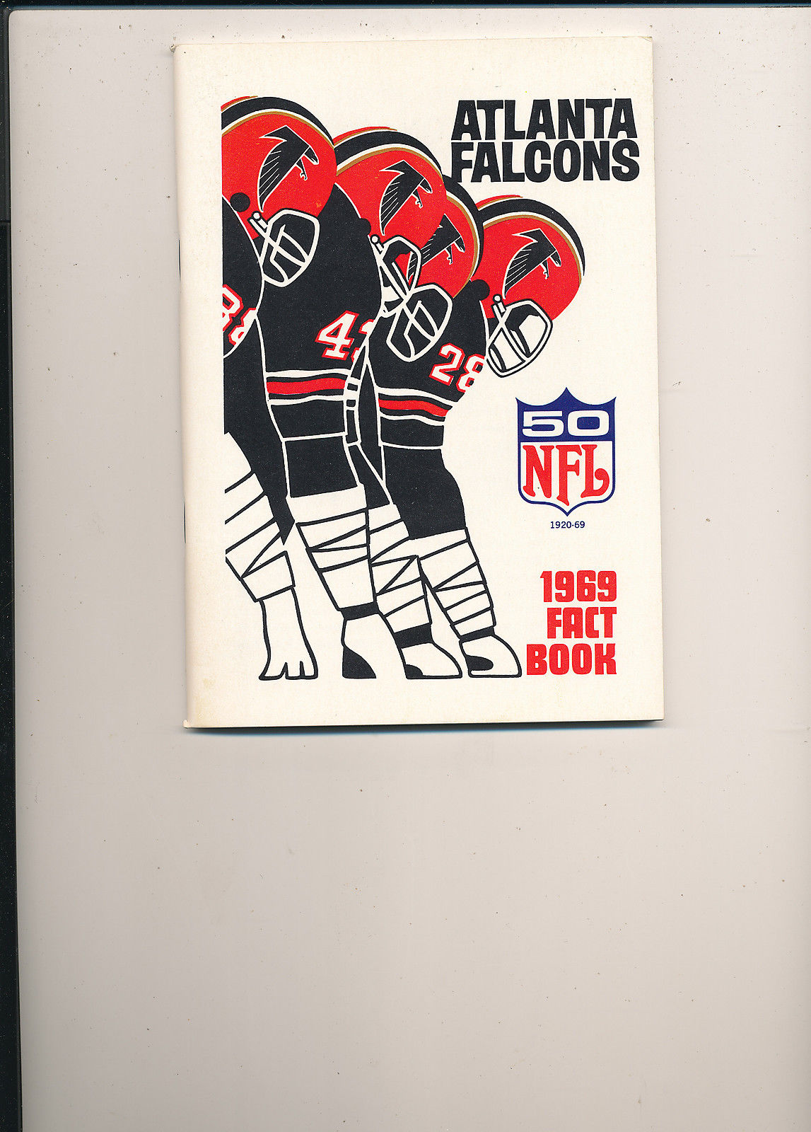 1969 Atlanta Falcons Fact Book press guide