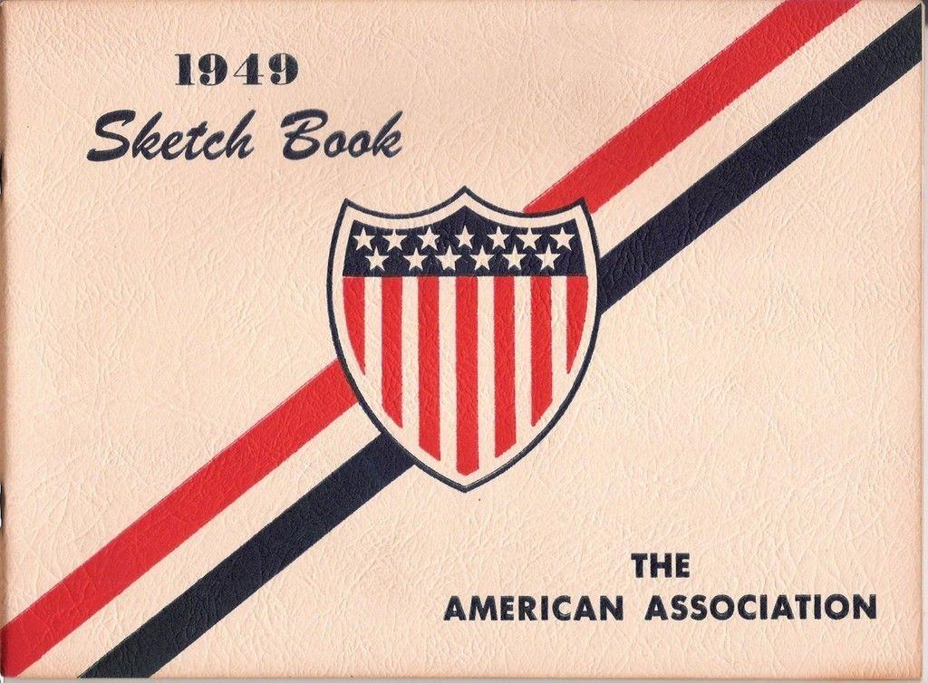 The American Association 1949 Baseball Sketch Book