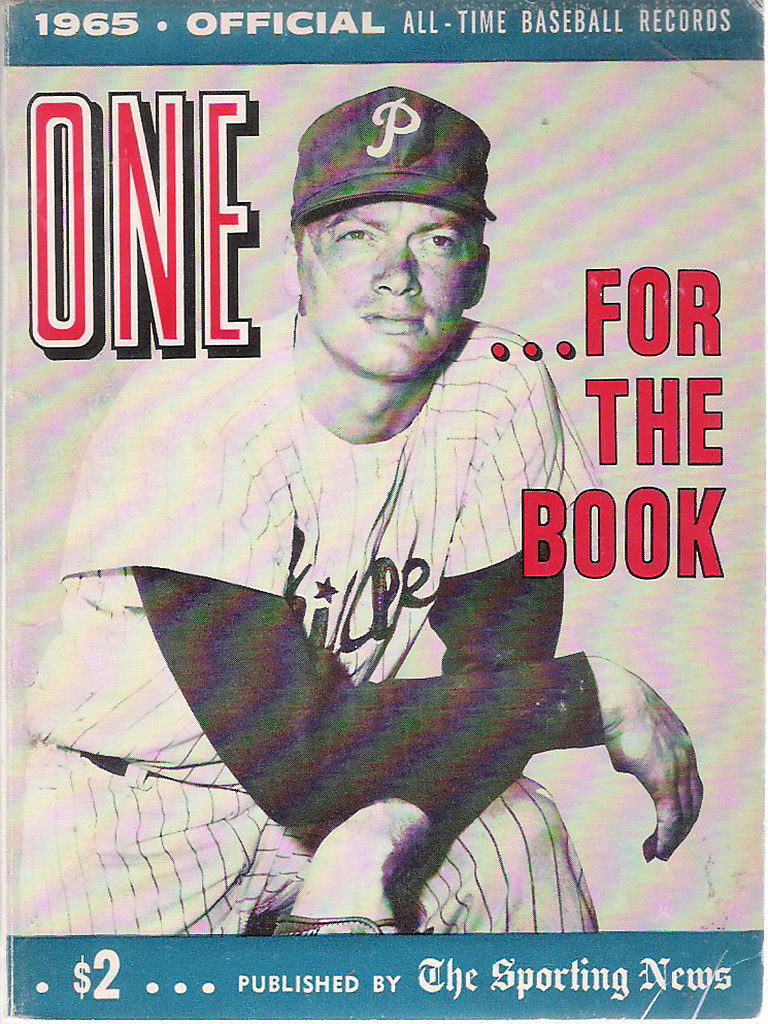 One For The Book 1965 The Sporting news - Phillies - Jim Bunning