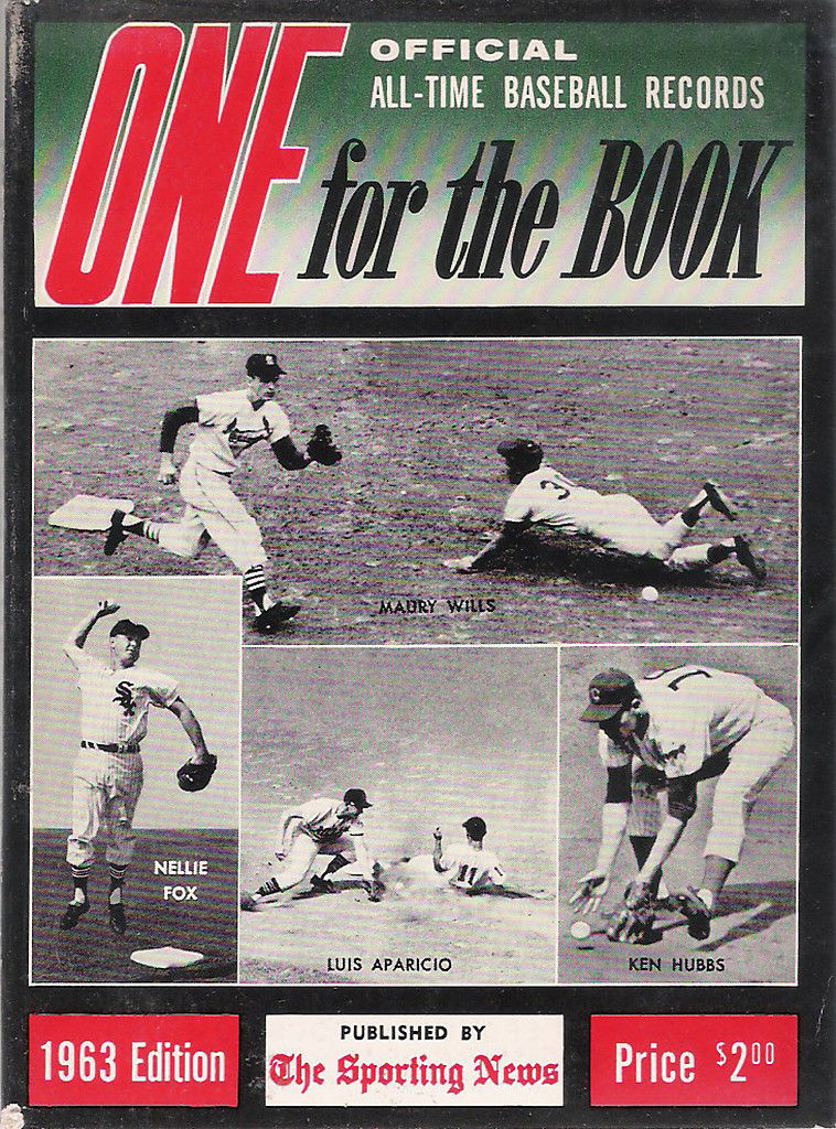 One For The Book 1963 All-Time MLB Media Guide - Nellie Fox