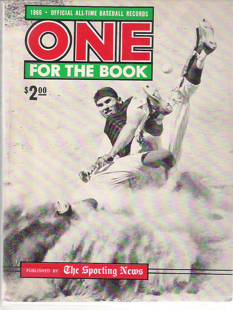 One For The Book 1966 The Sporting News - N.Y. Mets - Bob Taylor