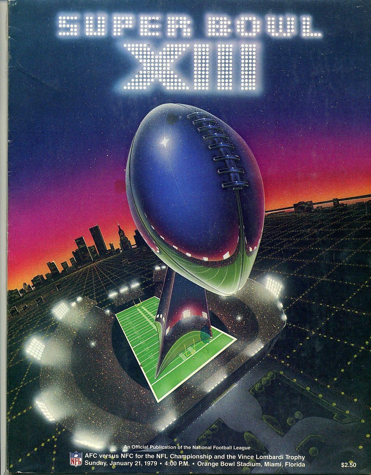02 - Jan 21 1979 Super Bowl XII Miami, FL - Cowboys vs. Steelers program