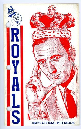 Cincinnati Royals 1969 media press guide