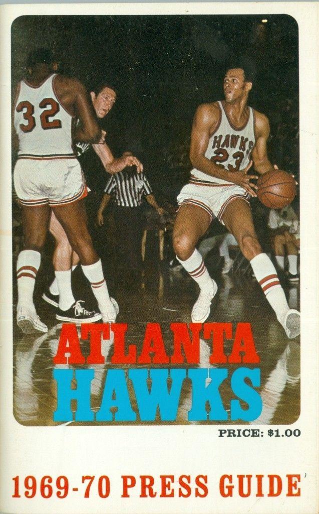 1969 - 1970 Atlanta Hawks Press Guide nm NBAmg1