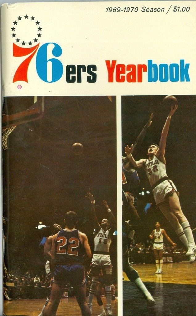 1969  -1970 Philadelphia Sixers Press Guide em NBAmg1