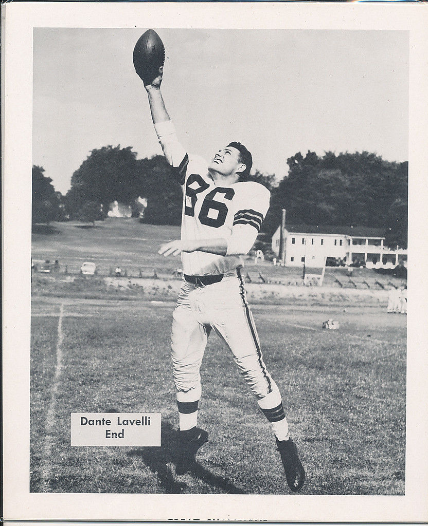 1953 Cleveland Browns Dante Levilli Team Issued card nm