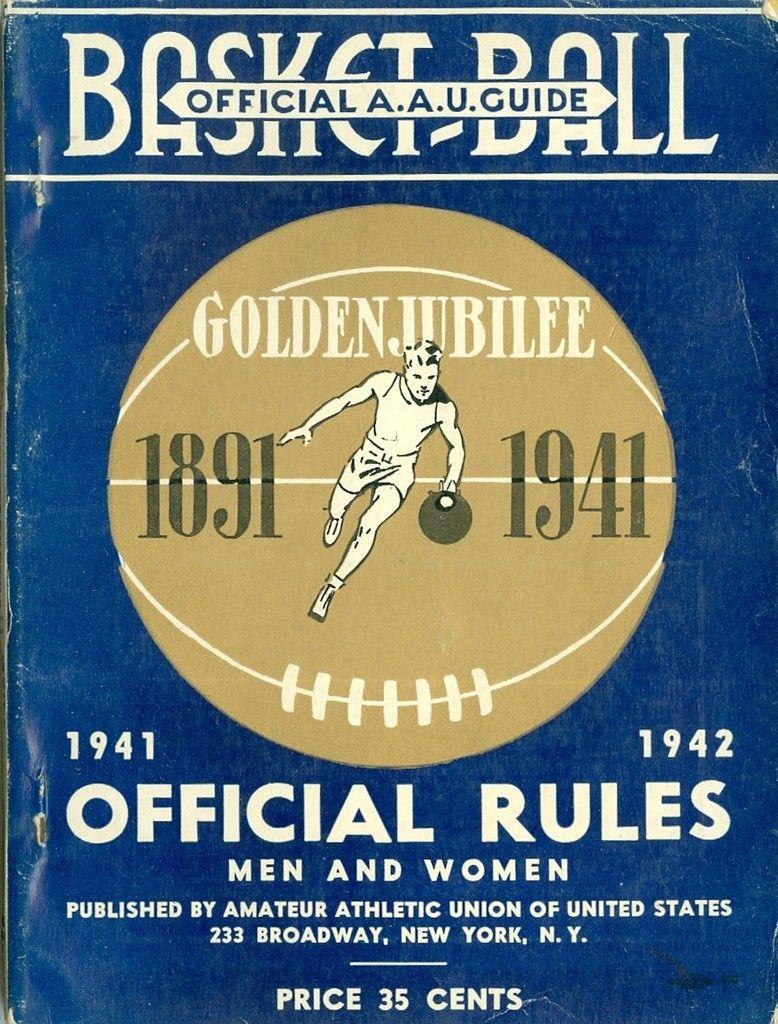 1941 - 1942 Spalding Basketball Guide - Jubilee em