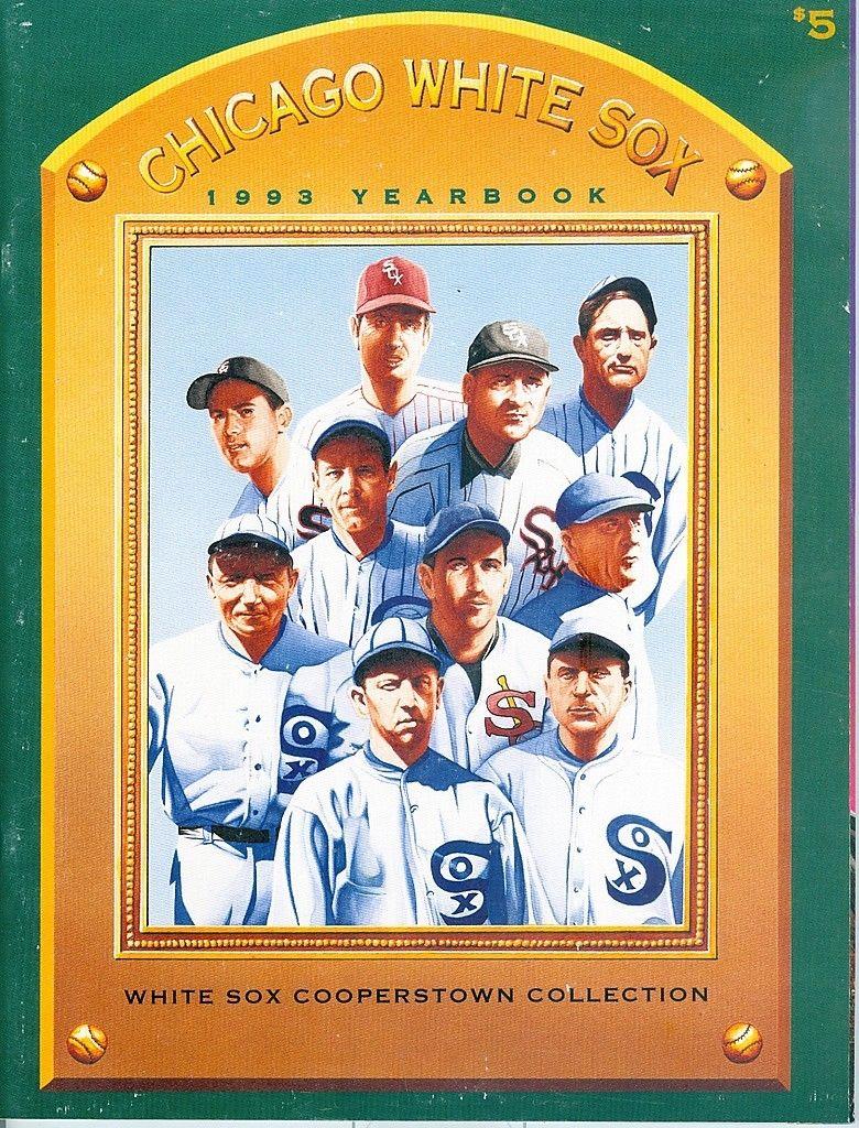 Chicago White Sox 1993 Baseball Yearbook  | Box yb
