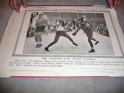1930 Jack Sharkey Boston Heavyweight Boxing Poster