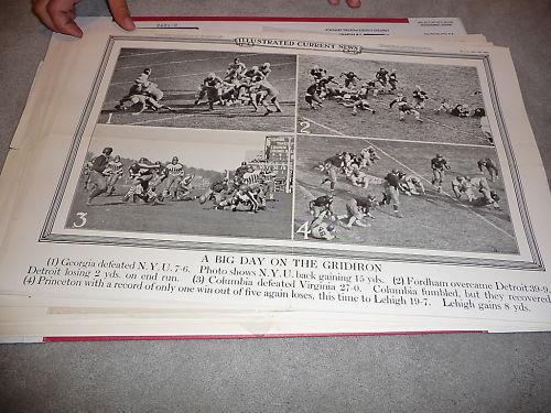 1931 Georgia NYU football game Current news poster