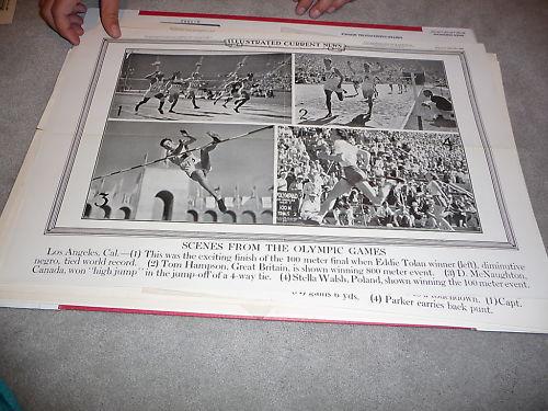 1932 Eddie Tolan Olympic 1932 winner poster