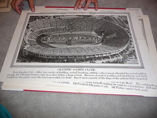 1932 Olympic Games Closing LA Stadium