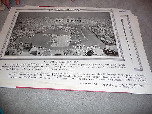 1932 Olympic Games Opening LA Colosium Stadium