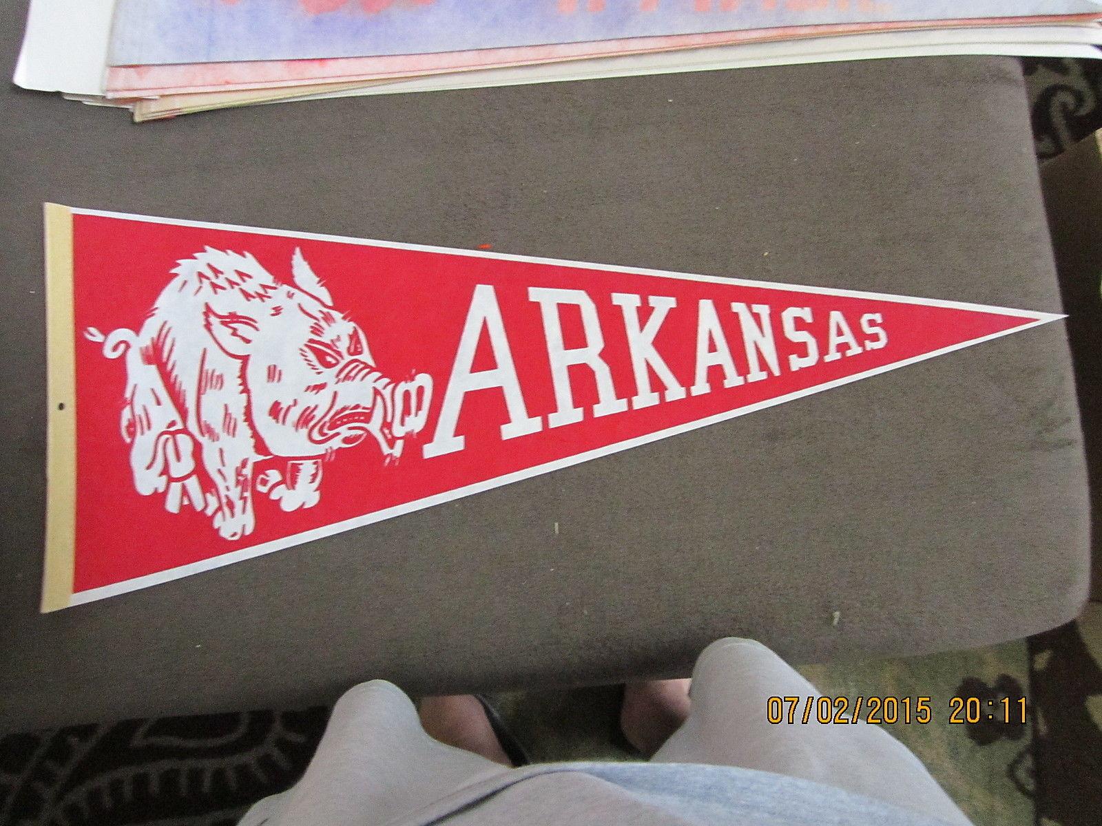 University of Arkansas Football Pennant