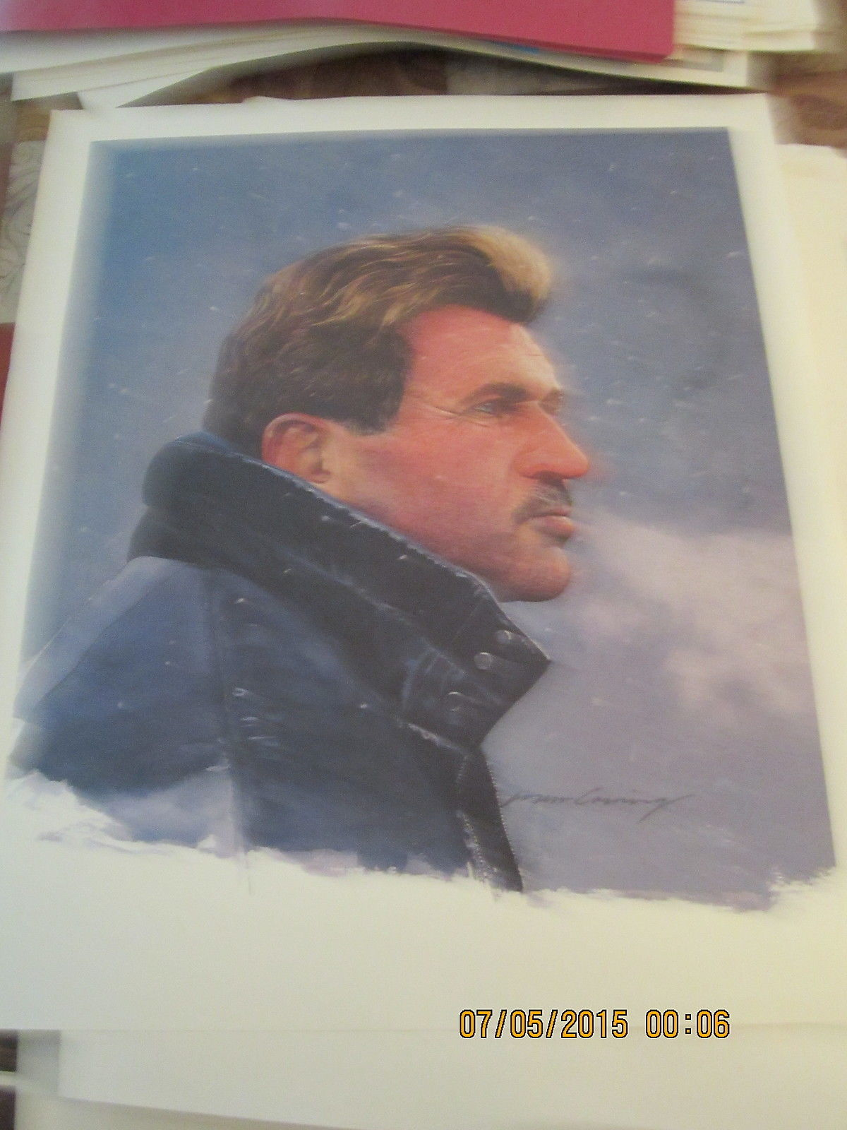 1986 Chicago Bears Mike Ditka Print
