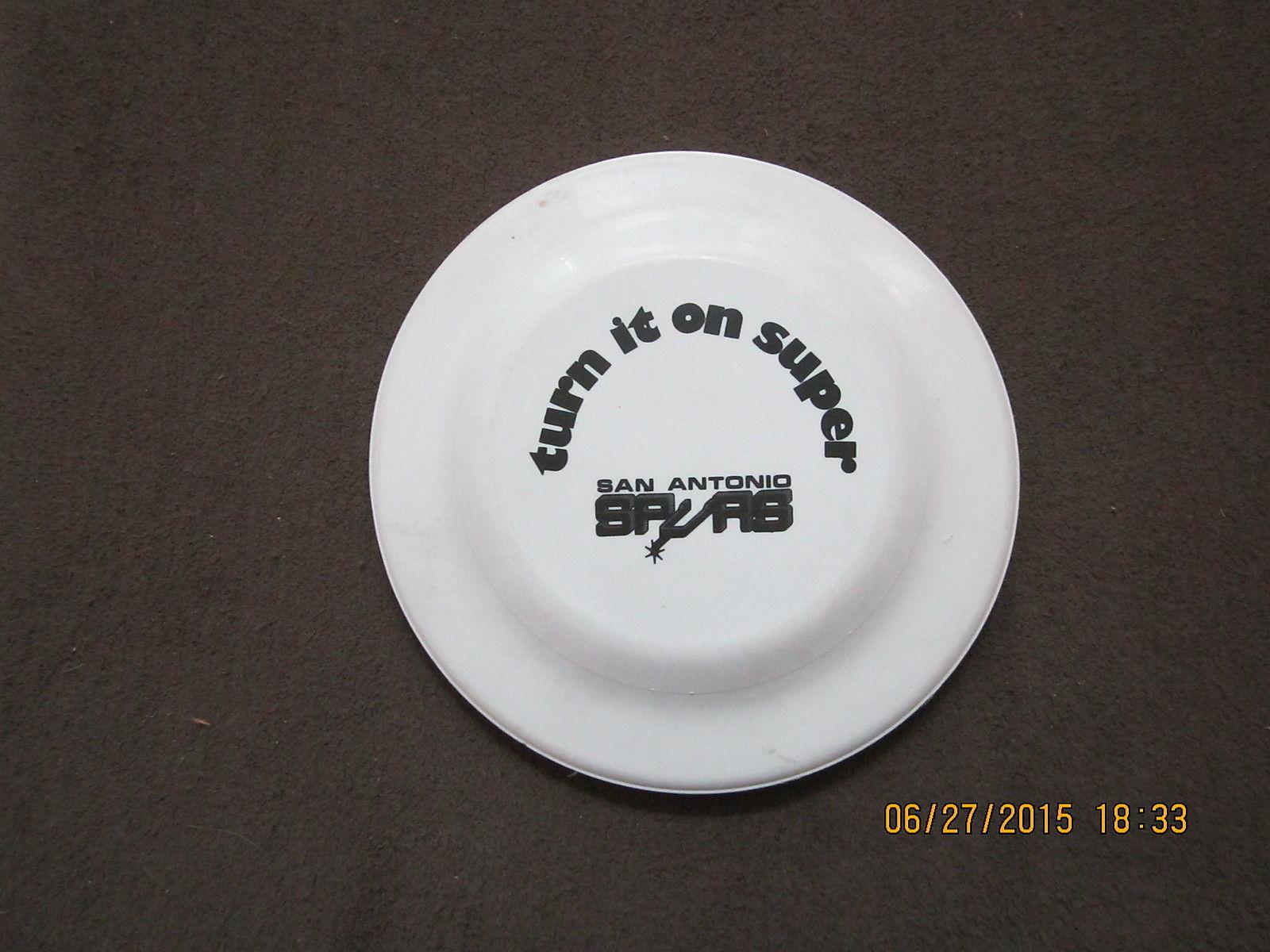 ABA San Antonio Spurs Frisbee