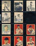Eddie Joost Philadelphia Athletics #15 1948 bowman Signed Card